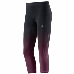Adidas Adipure Three-Quarter Seamless Ombré Tight